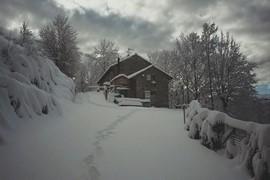 prima neve al borgo dei celti